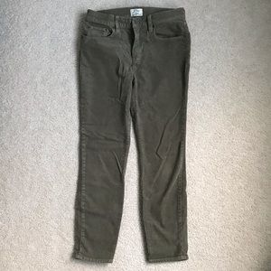 JCrew Lookout Highrise Skinny Cords